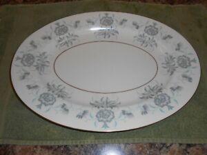 """CASTLETON china  CAPRICE pattern oval Serving Platter - 15 1/4"""" X 11 1/2"""""""
