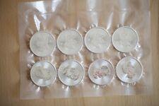8x Silbermünzen (1 Oz) Gesamt: 8 Unzen! Maple Leaf Silver 2018 -  NEUWARE!
