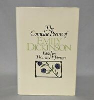 The Complete Poems of Emily Dickinson 1960 Hardcover Dust Jacket Thomas Johnson