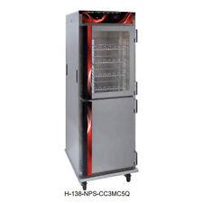Cres Cor H-138-Nps-Cc1Mc5Q Mobile Half Size Pass-Thru Heated Cabinet.