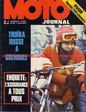 MOTO JOURNAL  107 HONDA CR 250 M Elsinore YAMAHA RD 350 MAICO Victor PALOMO 1973