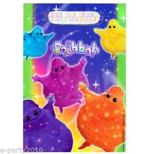 BOOHBAH FAVOR BAGS (8) ~ Birthday Party Supplies Treat Sacks Goody Plastic Blue