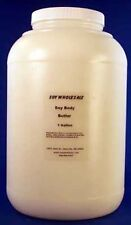 Soy Body Butter Moisturizer (Unscented) 1 Gallon