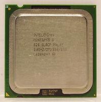 Intel Pentium D 820 Dual Core 2.8 GHz / 2M / 800 Mhz LGA 775 socket SL8CP