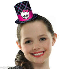MONSTER HIGH MINI TOP HATS (8) ~ Birthday Party Supplies Favors Halloween Skull