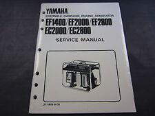 Yamaha OEM Shop Manual For Generator Model EF4000DM/DEM,EF5200DM/DEM,EF6600DM