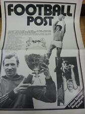 """1978/1979 NOTTINGHAM football post GIORNALE speciale: titolo legge """"colore SPE"""