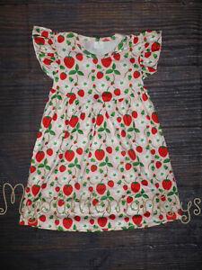 NWT Boutique Sloth Sunflower Strawberry Farm Fox Girls Chicken Pearl Dress