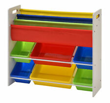 Zoomie Kids Hinerman Book Storage and Toy Organizer
