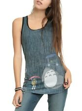 My Neighbor Totoro Studio Ghibli Womens Hot Topic Grey Tank Top XS