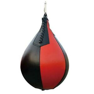 Sport Fitness MMA Boxing Punching Ball Speed Training Bag Pu Leather Pear Fast