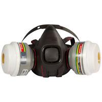Honeywell HM501 Atemschutz-Set Halbmaske +2 Filter Lackier- Gas- Staub-Maske