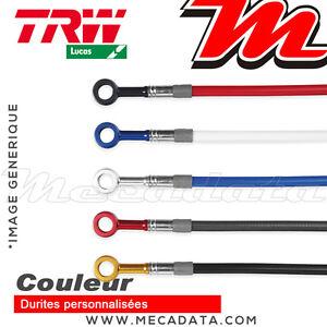 Durites de frein couleurs (Arrière) TRW Lucas Kawasaki ER 650 N, F ABS (2007)