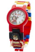 Lego DC Comics Super Heroes Wonder Woman Kids Minifigure Link Buildable Watch