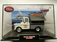 DISNEY STORE CARS TACO TRUCK MATER IN COLLECTOR CASE 1:43 NEW DISCONTINUED