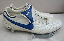 GENUINE NIKE MENS AIR ZOOM BRASILIAN FOOTBALL BOOTS UK SIZE 10 WHITE BLUE