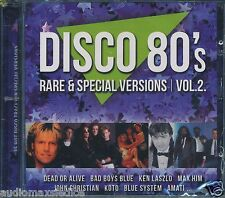DISCO 80's RARE & SPECIAL VERSIONS Vol.2  [CD] Italo Disco