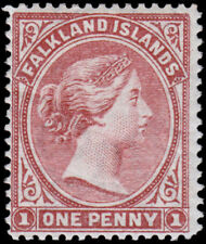 Îles Malouines Scott 7 (1886) Excellent État H F-Vf , Cv