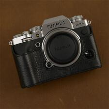 Fujifilm XT4 Camera Half Case Insert X-T4 Retro Cover Genuine Leather Handmade