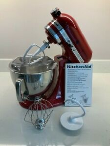 KITCHEN AID STAND MIXER MODEL 5KSM IN RED