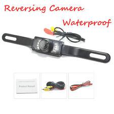 HD Car Rearview Backup Camera 7 LED Infrared Night Vision Lights Waterproof Kit