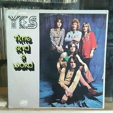 New Listing[Rock/Pop]~Exc Lp~Yes~Time And A Word~{Og 1970~Atlantic~Issue]