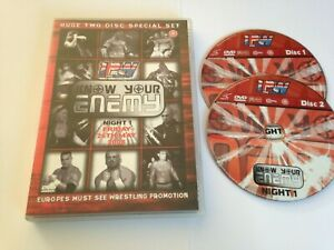 1PW Know Your Enemy DVD Worldwide Post! 2007 Professional Wrestling 2 Disc