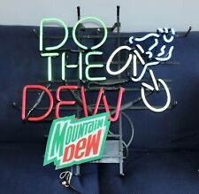 Mountain Dew Neon Sign Do The Dew Bicycle Works!
