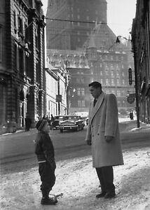 Jean Beliveau Montreal Canadiens Unsigned 8x10 Photo