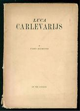MAURONER FABIO LUCA CARLEVARIJS LE TRE VENEZIE 1945 ARTE PITTURA VENEZIA VENETO
