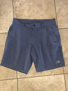 Men's Blue The North Face shorts- size 34