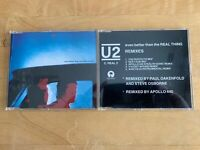 U2 ~ EVEN BETTER THAN THE REAL THING - CD MAXI-SINGLES - LOT OF 2 - USED - 1991