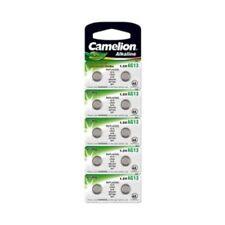 10 PILE BOUTON ALCALINE CAMELION AG13 / LR44 / LR1154 / 357 / GP76A / BP10 0% M