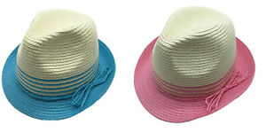 Thomas Calvi Women's Sun Hat Straw Sun Protection Bucket Summer Beach Cap