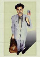 BORAT Movie PHOTO Print POSTER Film Sacha Baron Cohen Textless Glossy Ali G 001