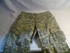 HUNTING AIRSOFT ACU CARGO SHORTS MEDIUM-SHORT HAS SPECIFIC LISTED DEFECTS 2219