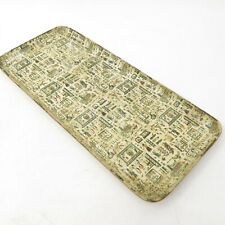 Mcm Egyptian Alfred Knobler Paper Mache Large Trays Alcohol Proof Japan Vtg