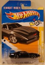 2012 Hot Wheels New Models KITT K.I.T.T. Knight Industries Two Thousand Firebird