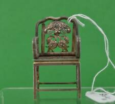Antico cinesi Sedia D'Argento Menu/Luogo Nome titolare no segni Makers