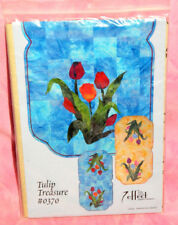 "A Little More Effect ""Tulip Treasure"" Quilting Pattern Table Runner Decor Flower"