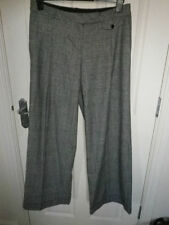 Marks and Spencer Cotton Tailored 32L Trousers for Women