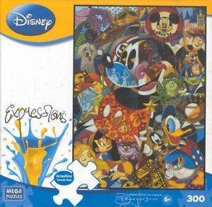 Tim Rogerson Disney Expressions 300 Pc Jigsaw puzzle Legends-NIB