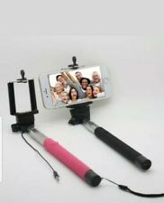 Selfie Stick Extendable Monopod Build-in Remote For Apple, Android Phone, Camera