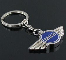 Metal Mercedes mini key ring Blue Car Key Ring Men's Fashion Key Chain
