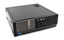 DELL OPTIPLEX 9020 SFF DESKTOP PC QUAD CORE I5-4570 8GB RAM 500GB HD WIN 10 WIFI