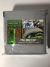 Minecraft Full Sheet Set 4 Piece