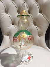 MADE IN ITALY - MURANO CHRISTMAS SNOWMAN - GORGEOUS HOME DECORE DECORATION TREE