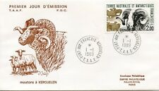 FDC / T.A.A.F. TERRES AUSTRALES TIMBRE N° 141 / FAUNE /