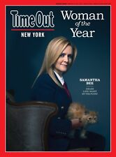 SAMANTHA BEE TIME OUT NEW YORK MAGAZINE WOMAN OF THE YEAR MARCH 15-28, 2017