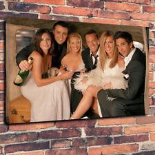 "Amigos show de TV caja impresa cuadro lienzo A1.30""x20"" 30 mm profunda Jennifer Aniston"